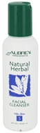 Aubrey Organics - Natural Herbal Facial Cleanser - 4 oz.