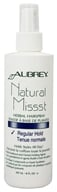 Aubrey Organics - Natural Missst Herbal Hairspary Regular Hold - 8 oz. - $6.68