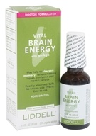 Liddell Laboratories - Vital Brain Energy with Ginkgo Homeopathic Oral Spray - 1 oz. (363113217964)