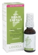 Image of Liddell Laboratories - Vital Brain Energy with Ginkgo Homeopathic Oral Spray - 1 oz.