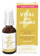 Image of Liddell Laboratories - Vital Age Defiance Homeopathic Oral Spray - 1 oz.