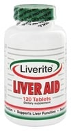 Liverite Products - Liver Aid - 120 Tablets, from category: Nutritional Supplements