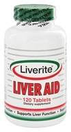 Liverite Products - Liver Aid - 120 Tablets by Liverite Products
