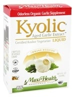 Maxi-Health Research Kosher Vitamins - Kyolic Aged Garlic Liquid Extract 300 mg. - 4 oz. (753406100231)
