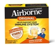 Airborne - Triple Pack Zesty Orange - 30 Tablets