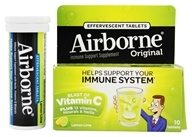 Image of Airborne - Effervescent Health Formula Lemon Lime - 10 Tablets