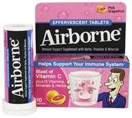 Airborne - Effervescent Health Formula Pink Grapefruit - 10 Tablets