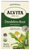 Alvita - Dandelion Root (Roasted) Caffeine Free - 24 Tea Bags by Alvita