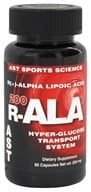AST Sports Science - R-ALA 200 - 90 Capsules (705077002659)