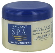 Aubrey Organics - Natural Spa Sea Wonders Sea Soap Shower Wash - 12 oz.