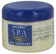 Aubrey Organics - Natural Spa Sea Wonders Sea Soap Shower Wash - 12 oz. - $6.40