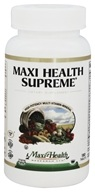 Maxi-Health Research Kosher Vitamins - Maxi Health Supreme High Potency Multi-Vitamin/Mineral - 180 Tablets CLEARANCE PRICED (753406001187)