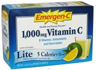 Alacer - Emergen-C Lite Citrus 1000 mg. - 30 Packet(s) (076314302093)