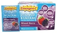 Alacer - Emergen-C Vitamin D and Calcium Mixed Berry - 30 Packet(s)