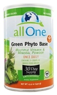 All One - Green Phyto Base Vitamin Mineral Powder - 15.9 oz. by All One