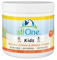 All One - Kids Multiple Vitamin & Mineral Powder - 7.95 oz., from category: Vitamins & Minerals