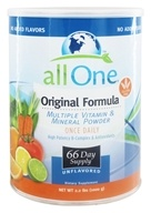 All One - Original Formula Multiple Vitamin Mineral Powder - 2.2 lbs. (052534300019)
