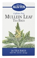Alvita - Mullein Leaf Caffeine Free - 24 Tea Bags, from category: Teas