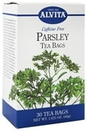 Alvita - Parsley Caffeine Free - 30 Tea Bags, from category: Teas