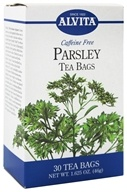Alvita - Parsley Caffeine Free - 30 Tea Bags by Alvita