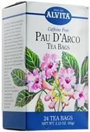 Alvita - Pau D' Arco Caffeine Free - 24 Tea Bags, from category: Teas