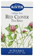 Alvita - Red Clover Caffeine Free - 30 Tea Bags, from category: Teas