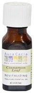 Aura Cacia - Essential Oil Revitalizing Cinnamon Leaf - 0.5 oz. (051381911119)