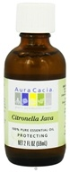 Aura Cacia - Essential Oil Protecting Citronella Java - 2 oz. CLEARANCE PRICED