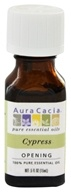 Image of Aura Cacia - Essential Oil Opening Cypress - 0.5 oz.