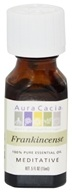 Aura Cacia - Essential Oil Meditative Frankincense - 0.5 oz.
