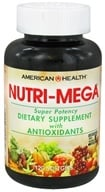 American Health - Nutri Mega Super Potency - 120 Softgels (076630002820)