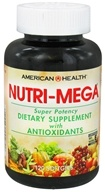 American Health - Nutri Mega Super Potency - 120 Softgels, from category: Vitamins & Minerals