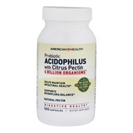 Image of American Health - Potent Probiotic Acidophilus with Pectin - 100 Capsules