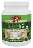 Barlean's - Organic Greens Powder Formula - 16.9 oz. by Barlean's