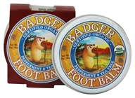 Badger - Foot Balm Peppermint & Tea Tree - 0.75 oz. by Badger