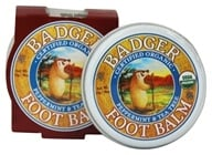 Image of Badger - Foot Balm Peppermint & Tea Tree - 0.75 oz.