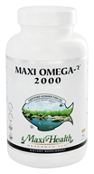 Image of Maxi-Health Research Kosher Vitamins - Maxi-Omega-3 2000 Certified Kosher Fish Oil 2000 mg. - 100 Vegetarian Capsules