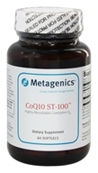 Metagenics - CoQ10 ST-100 Highly Absorbable Coenzyme Q10 100 mg. - 60 Softgels (755571013651)