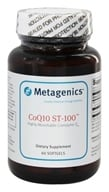 Metagenics - CoQ10 ST-100 Highly Absorbable Coenzyme Q10 100 mg. - 60 Softgels by Metagenics