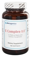 Metagenics - E Complex 1:1 - 180 Softgels, from category: Professional Supplements
