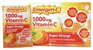 Alacer - Orange superbe mg de vitamine C 1000 d'Emergen-C. - 30 Paquets