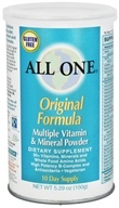 All One - Original Formula Multiple Vitamin Mineral Powder - 5.29 oz.