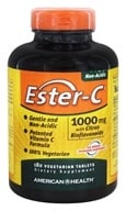American Health - Ester-C with Citrus Bioflavonoids 1000 Mg. - 180 Vegetarian Tablets