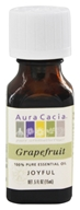 Image of Aura Cacia - Essential Oil Joyful Grapefruit - 0.5 oz.