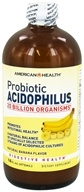 Image of American Health - Probiotic Acidophilus Natural Banana Flavor - 16 oz.