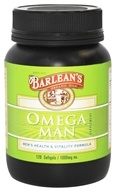 Barlean's - Omega Man Men's Health & Vitality Formula 1000 mg. - 120 Capsules, from category: Nutritional Supplements
