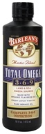 Image of Barlean's - Total Omega 3-6-9 Master Blend Lemonade Flavor - 16 oz.