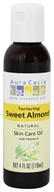 Aura Cacia - Natural Skin Care Oil Sweet Almond - 4 oz. - $4.34