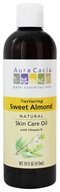 Aura Cacia - Natural Skin Care Oil Sweet Almond - 16 oz.