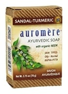 Auromere - Ayurvedic Bar Soap with Organic Neem Sandal-Turmeric - 2.75 oz.